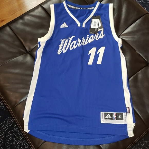 the latest bc813 eca9e Warriors Christmas Jersey Klay Thompson